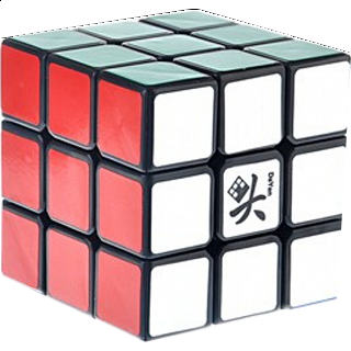 ZhanChi 3x3x3 DIY Kit - Black Body