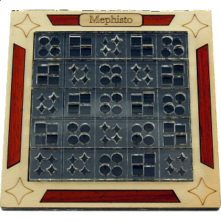Puzzle Solution for Mephisto