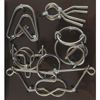 Wire Puzzle Set #2 - Group of 4 - Hanayama
