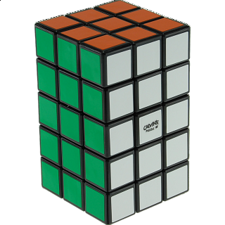 3x3x5 Cuboid with Aleh & Evgeniy logo - Black Body