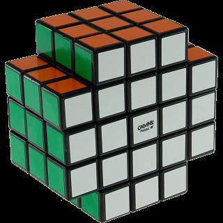 3x3x5 X-Shaped-Cube with Evgeniy logo - Black Body
