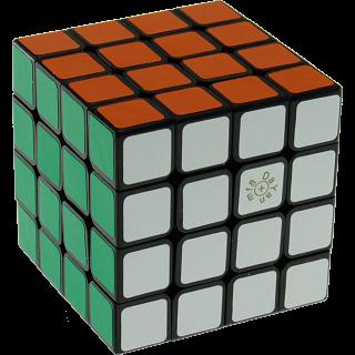 Spring 4x4x4 Cube  - Black Body (Version IV) 66 mm