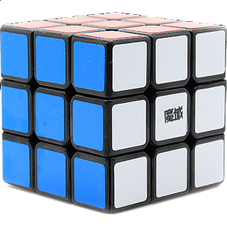 WeiLong 3x3x3 Cube DIY Kit - Black Body