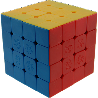 Spring 4x4x4 Cube - Stickerless 66mm (Version IV)