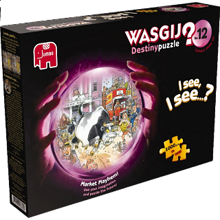 Wasgij Destiny #12: Market Mayhem