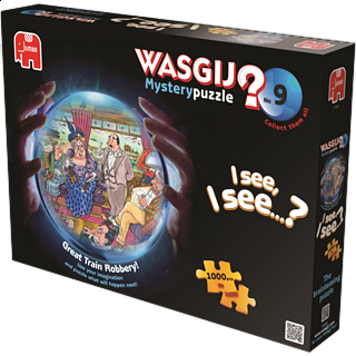 Wasgij Mystery #9: Great Train Robbery