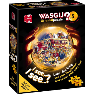 Wasgij Original #5: Late Booking