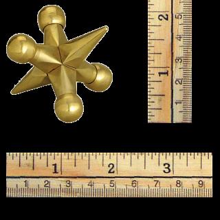 Bits and Pieces - Brass Jax Metal Brainteaser