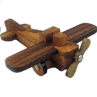 Puzzle Solution for Airplane Kumiki