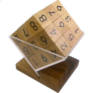 Puzzle Solution for 3D Wooden Sudoku Cube