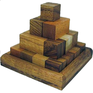 Puzzle Solution for Pagoda Pyramid