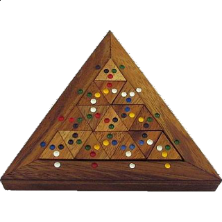 Puzzle Solution for Color Match Triangle