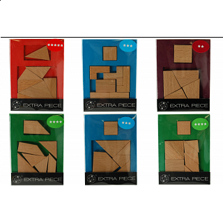 Extra Piece - Set of 6 puzzles