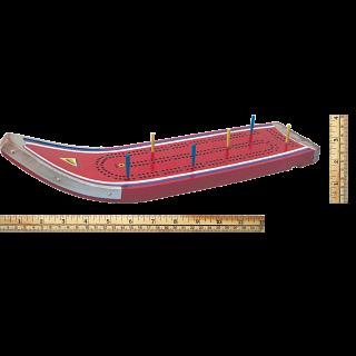 Cribbage Board - Vintage Ski
