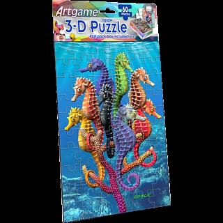 3D Seahorses