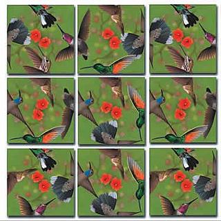 Scramble Squares - Hummingbirds