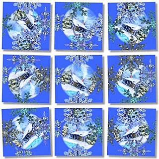Scramble Squares - Snowflakes