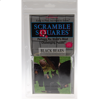 Scramble Squares - Black Bears