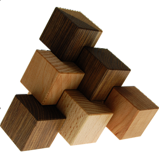 Three-piece Pyramid