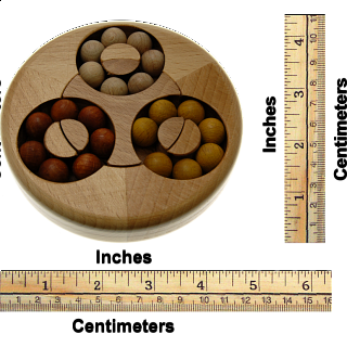 Flower - Wood Puzzle
