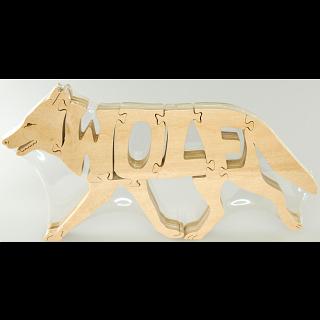 Wolf - Wooden Jigsaw