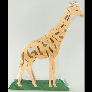 Giraffe - Wooden Jigsaw