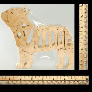 French Bulldog - Wooden Jigsaw