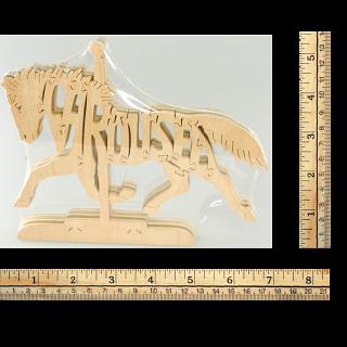 Carousel - Wooden Jigsaw