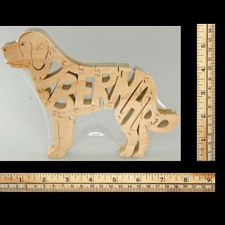 St. Bernard Dog - Wooden Jigsaw