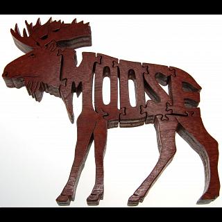 Moose - Wooden Jigsaw