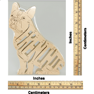 Frenchie Dog - Wooden Jigsaw