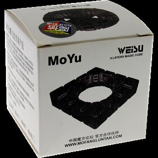 WeiSu 4x4x4 - Black Body for Speed-cubing