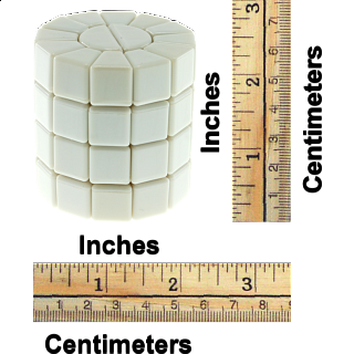 Super Square - 1- Column - DIY - MF8 - White Body