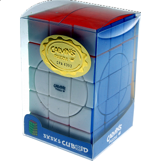 3x3x5 Super Cuboid with Evgeniy logo - Stickerless