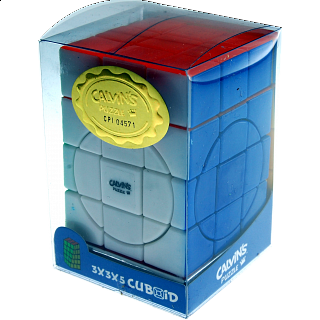 Center shifted 3x3x4 Super i-Cube w/ Evgeniy logo - Stickerless