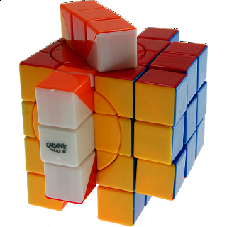 3x3x5 Super Trio-Cube with Evgeniy logo - Stickerless