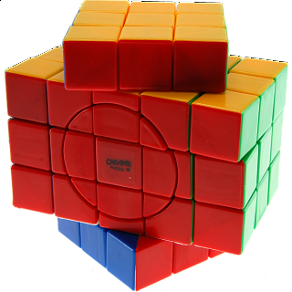 3x3x5 Super X-Shaped-Cube with Evgeniy logo - Stickerless