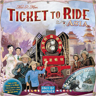 Ticket to Ride: Asia (Expansion)