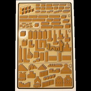 Dee Cube Wooden Brainteaser - 120 Puzzles