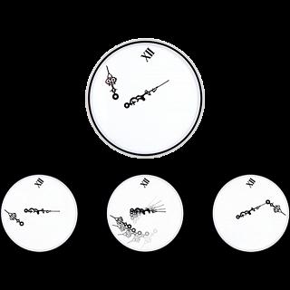 Zero Gravity Flat Clock