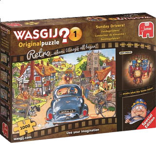 Wasgij Original #1 - Sunday Drivers