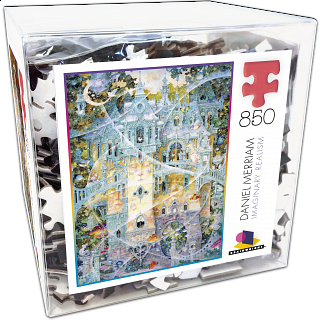 Brainwright Daniel Merriam - Telestic Tea - 850 Piece Puzzle