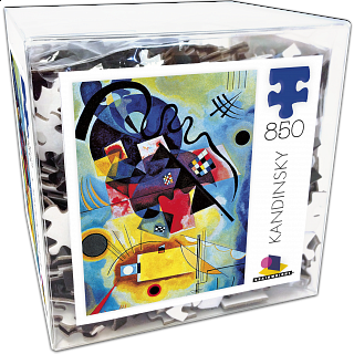 Deluxe Jigsaw - Kandinsky - Yellow-Red-Blue