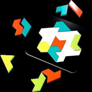 Plexi Puzzle - Iamond Hex