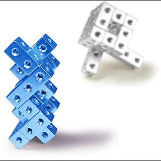 Fight Cube - 3x3x3 - Silver