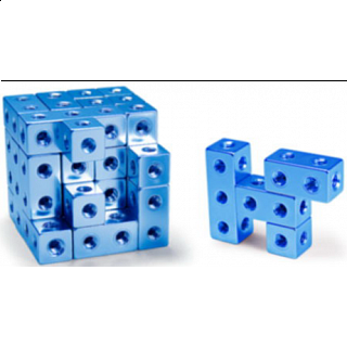 Fight Cube - 4x4x4 - Blue