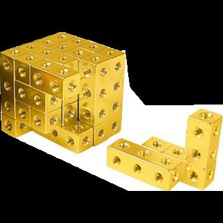Fight Cube - 4x4x4 - Gold
