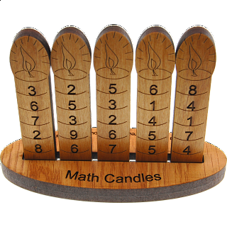 Math Candles Magic