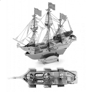 Metal Earth - Golden Hind