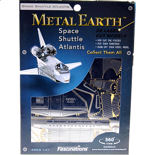 Metal Earth - Space Shuttle Atlantis